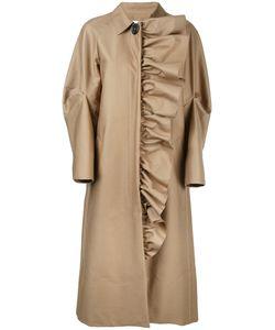 Irene | Frill Trim Coat