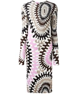 Emilio Pucci | Longsleeved Printed Dress Size 40