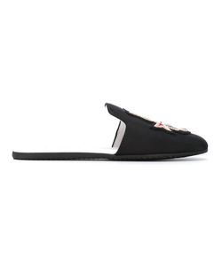 Joshua Sanders | Embroidered Slippers Size 38