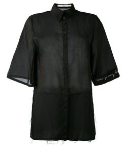 Damir Doma | Panelled Raw Edge Shirt