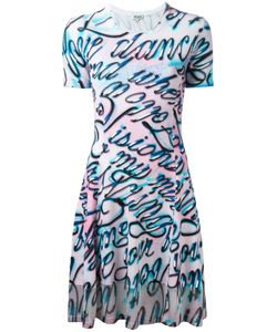 Kenzo | Disco Lyrics Printed Dress Size Xs