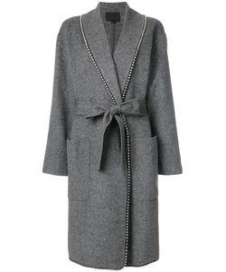 Alexander Wang | Пальто Свободного Кроя С Завязками