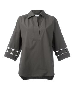 Akris Punto | Laser Cut Detail Shirt 38 Cotton
