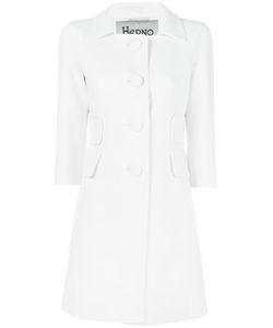 Herno   Buttoned Coat 44 Viscose/Virgin Wool/Spandex/Elastane