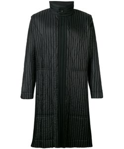 HOMME PLISSE ISSEY MIYAKE | Homme Plissé Issey Miyake Pleated Funnel Neck Coat Size 3