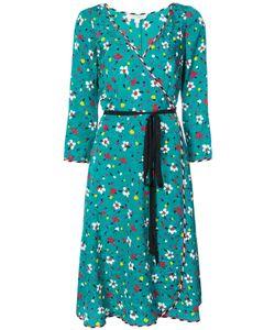 Marc Jacobs | Платье С Запахом И Цветочным Принтом