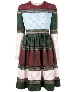 Huishan Zhang | Платье С Расклешенной Юбкой И Узорами