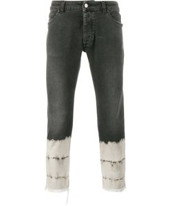 PALM ANGELS | Cropped Jeans 30 Cotton/Spandex/Elastane/Polyester