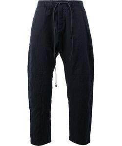 KAZUYUKI KUMAGAI | Drop Crotch Cropped Trousers Size 4