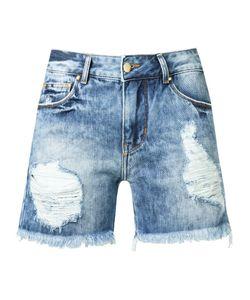 Amapô | Distressed Denim Shorts Size 40