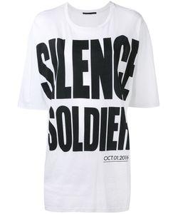 Haider Ackermann | Silence Soldier Print T-Shirt