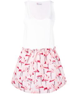 Red Valentino | Flamingo Print Dress