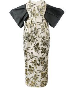 Christian Pellizzari | Print Strapless Gown Size