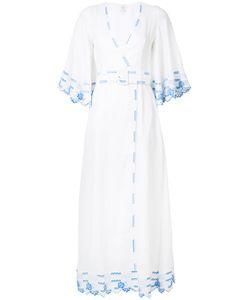 GÜL HÜRGEL | Платье С Вышивкой С Ремнем