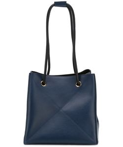 Victoria Beckham | Double Straps Tote Calf Leather