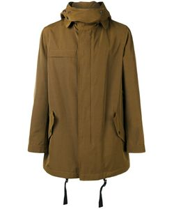Lanvin | Technical Hooded Parka 50 Rayon/Cotton
