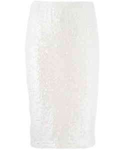 P.A.R.O.S.H. | P.A.R.O.S.H. Sequin Pencil Skirt S