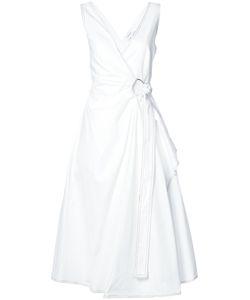 Derek Lam 10 Crosby | Платье Миди С Драпировкой