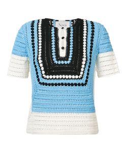 NOVIS | Crochet Knit Blouse