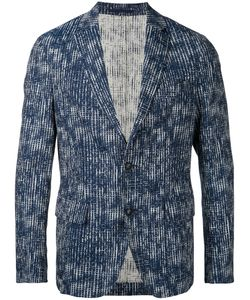 CASELY-HAYFORD | Abstract Grid Blazer 36