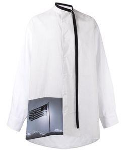 Raf Simons | Рубашка С Квадратным Принтом