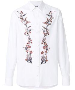 Alexander McQueen | Рубашка С Вышитыми Цветами