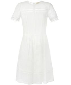 Michael Michael Kors | Broderie Anglaise Dress 0 Cotton/Nylon/Polyester
