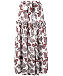 DODO BAR OR | Paisley Print Maxi Skirt