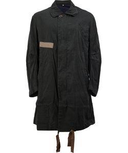ZIGGY CHEN | Concealed Fastening Midi Coat 52 Cotton/Ramie
