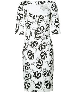 Carolina Herrera | Parasol Print Dress