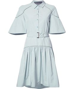 Lela Rose | Fla Shirt Dress 8 Cotton/Polyester