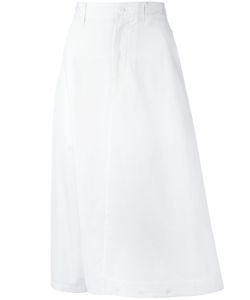 Y-3 | Midi A-Line Skirt Small Cotton