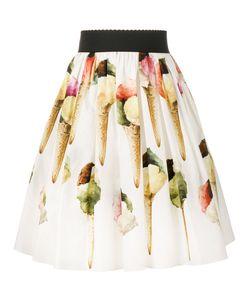 Dolce & Gabbana | Ice Cream Print Skirt
