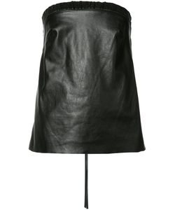 HELLESSY | Alma Leather Top 4 Nylon/Lamb Skin