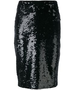 P.A.R.O.S.H. | P.A.R.O.S.H. Sequin Pencil Skirt Xs
