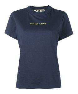 Jour/Né | Samedi 12h05 Stitched T-Shirt