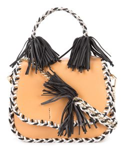 Rebecca Minkoff | Braided Fringed Crossbody Bag Leather
