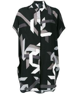 Neil Barrett | Geometric Print Shirt Dress