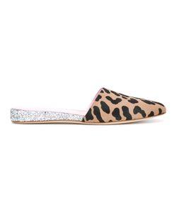 GIAMBA   Leopard Print Mules