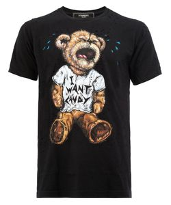 DOM REBEL | I Want Candy T-Shirt Medium Cotton