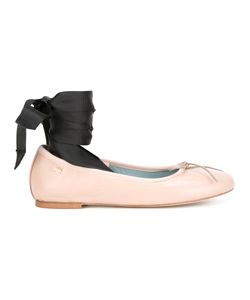 Chiara Ferragni | Ribbon Fastening Ballerinas Size 39