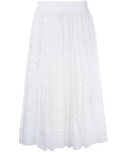 Missoni | Knitted Midi Skirt 38 Silk/Spandex/Elastane/Viscose