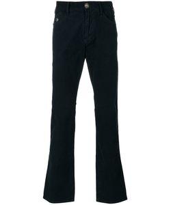 ARMANI JEANS | Button Detail Bootcut Jeans