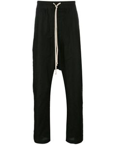 Rick Owens | Drop-Crotch Trousers 50 Linen/Flax/Cotton