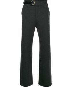 General Idea | Eyelet Detail Flared Trousers Men