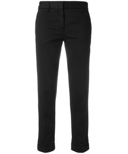 Aspesi | Cropped Trousers 46 Cotton/Elastodiene