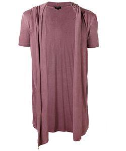 Unconditional   Draped Hooded Waistcoat T-Shirt