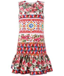Dolce & Gabbana | Carretto Printed Mini Dress 38 Cotton/Spandex/Elastane