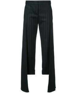HELLESSY | Pinstripe Layered Trousers Women