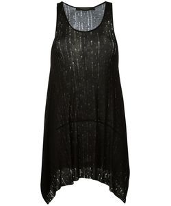 Federica Tosi | Distressed Sleeveless Top Size Xs